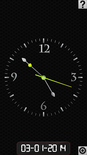 Clock Screen Lock