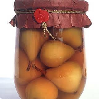 Brandied Pears.