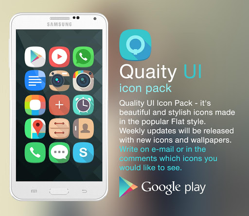 Quality UI icon pack