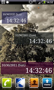 Seconds Clock Widget- screenshot thumbnail