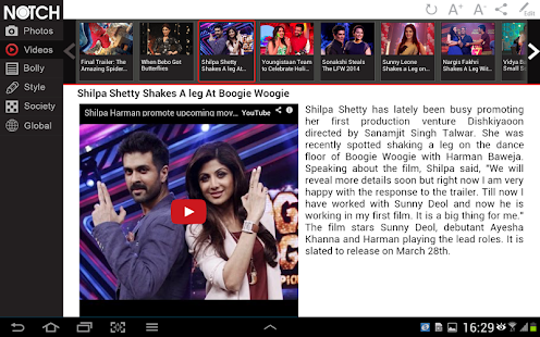 NOTCH BOLLY TAB - screenshot thumbnail