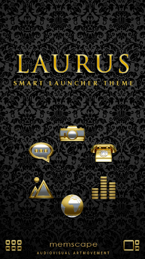 Smart Launcher Theme Laurus