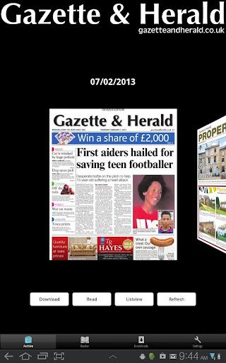 Gazette and Herald