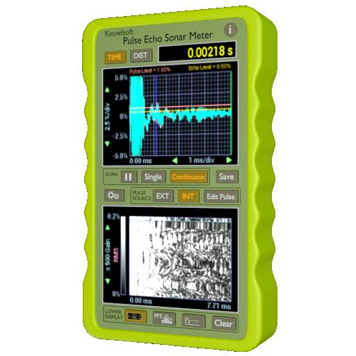 Pulse Echo Sonar Meter