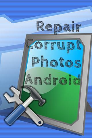修復損壞的Android照片