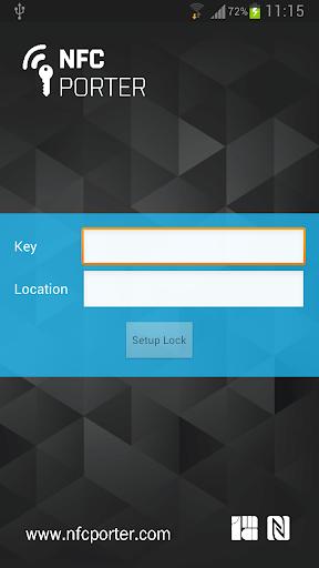 NFCporter Configuration Tool