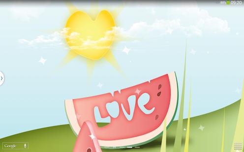 甜蜜的愛情動態壁紙