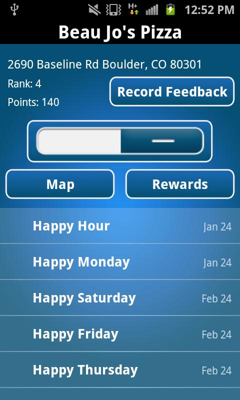 Rockit Rewards - screenshot