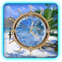 My Beach Clock Live Wallpaper icon
