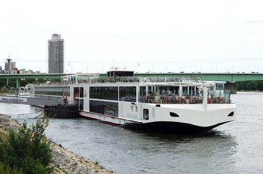Viking-Kvasir-Cologne - The river cruise ship Viking Kvasir in Cologne, Germany.