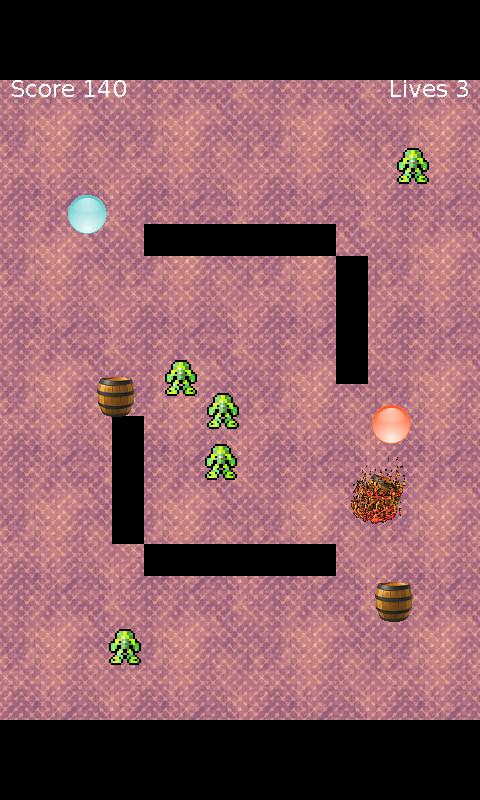 Billiard Berzerk- screenshot