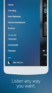 Rdio Music- screenshot thumbnail