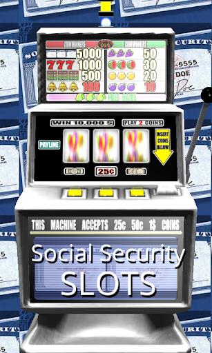 3D Social Security Slots