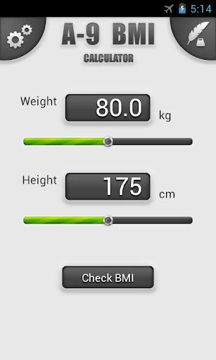 A-9 BMI Calculator Plus