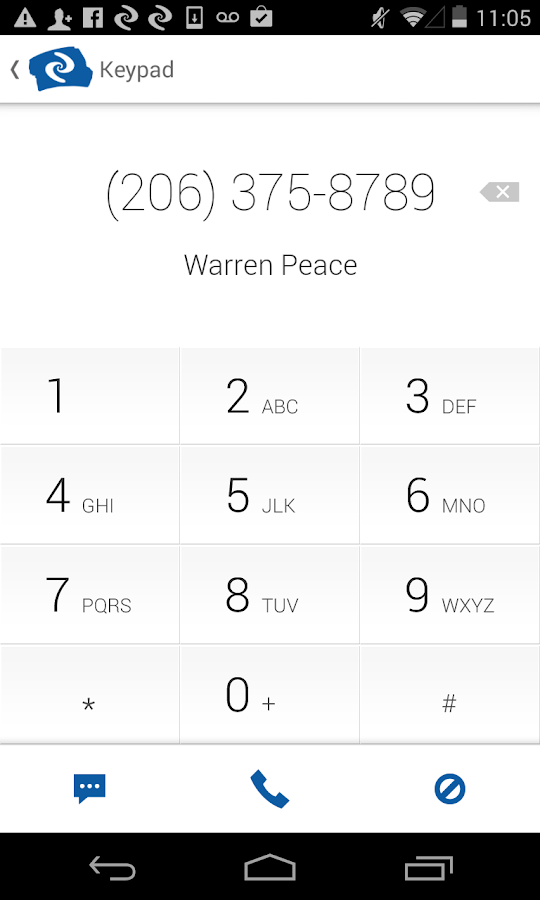 Current Caller ID & Contacts - screenshot