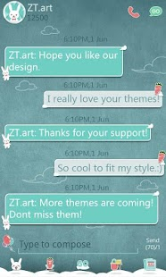 GO SMS Pro Balloon ThemeEX - screenshot thumbnail