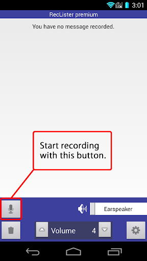Simple Recorder - RecLister