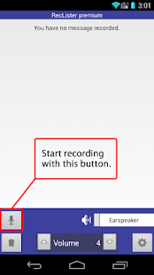 Simple Recorder - RecLister- screenshot thumbnail
