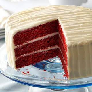 Classic Red Velvet Cake.