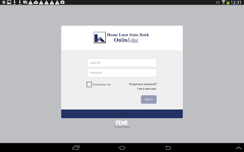 Home Loan State Bank MobilEdge - screenshot thumbnail