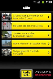 Radio Köln - screenshot thumbnail