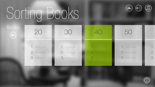 排书达人: Sorting Books