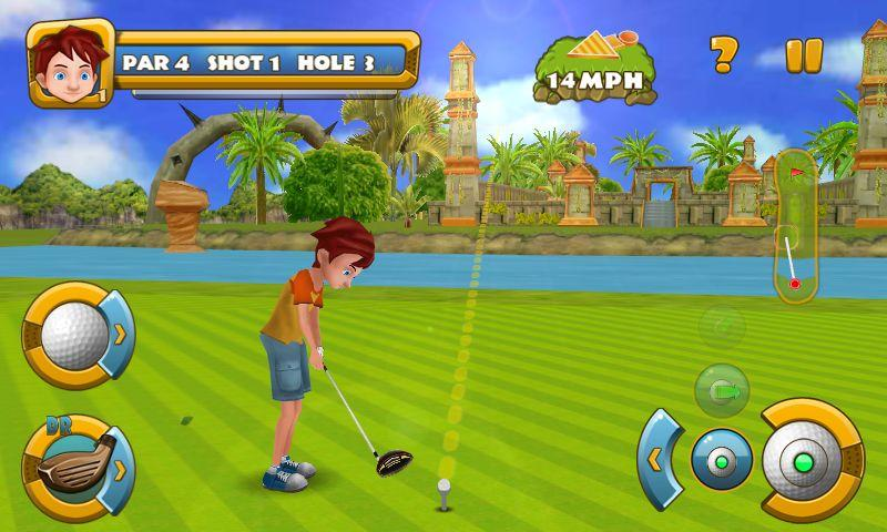Golf Championship - screenshot