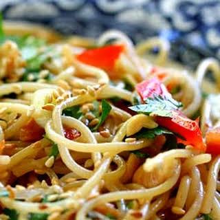 Sesame and Cilantro Vermicelli Salad.