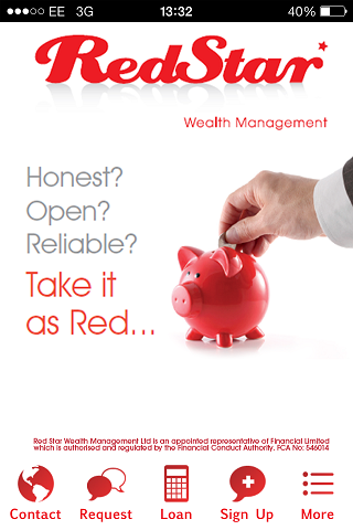 Red Star Wealth Management App