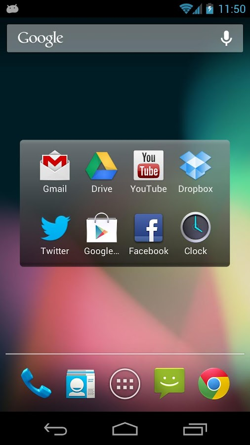 appRush Launcher - screenshot