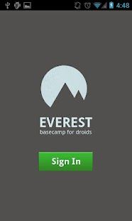 Everest - for Basecamp - screenshot thumbnail