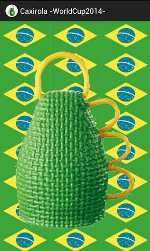 Caxirola -WorldCup2014-