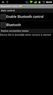 Bluetooth Auto Off - screenshot thumbnail