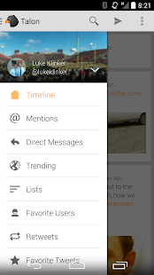 Talon for Twitter - screenshot thumbnail