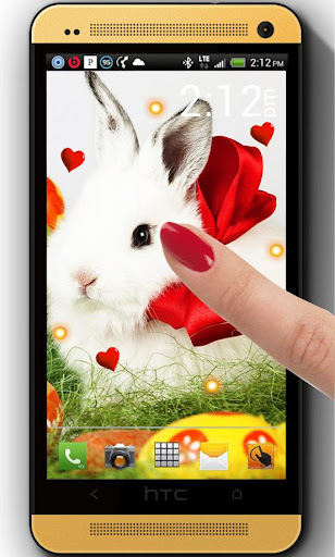 Easter Bunny White LWP