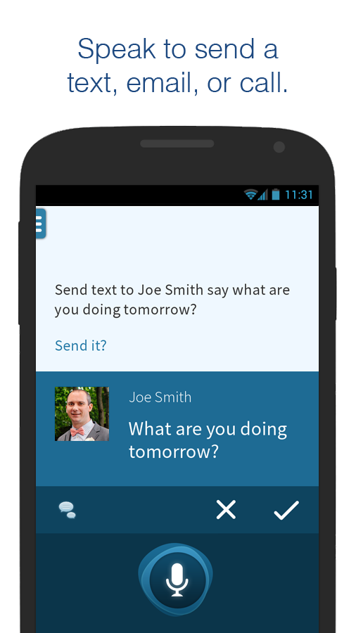 Dragon Mobile Assistant - screenshot
