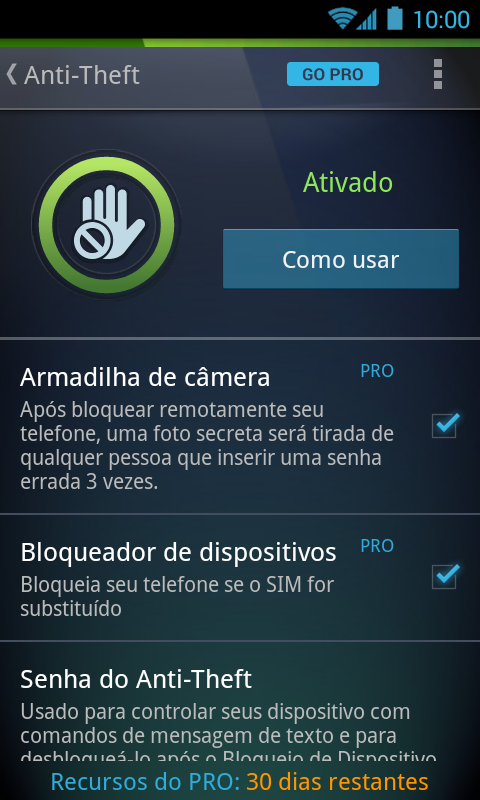 Antivírus - Limpador de Virus - screenshot
