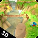Cartoon Landscape 3D LWP icon