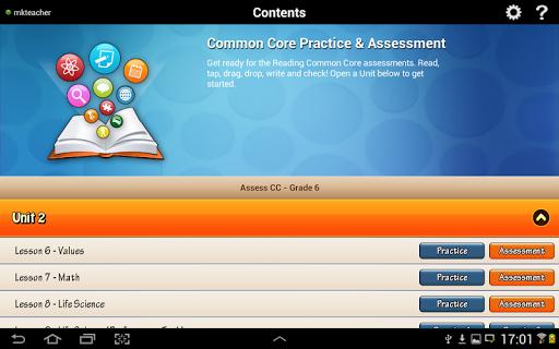 Reading Practice Assess G6