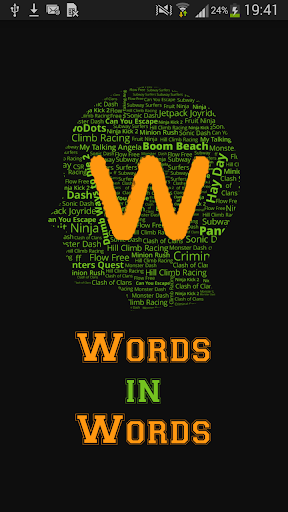 Find Words in Word