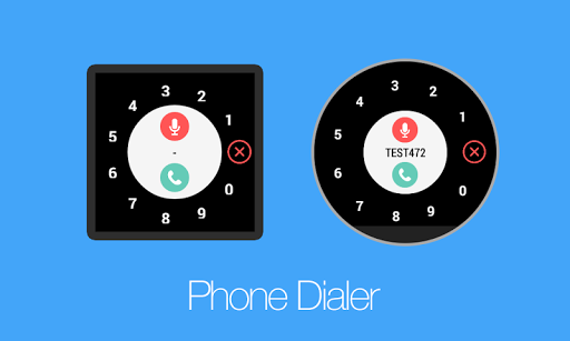 Phone Dialer for Android Wear