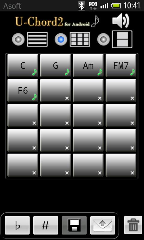 UChord2 (Ukulele Chord Finder) - screenshot