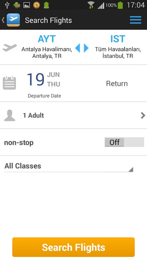 Aerobilet - Flights, hotels - screenshot