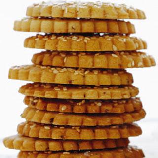 Anise Sesame Cookies