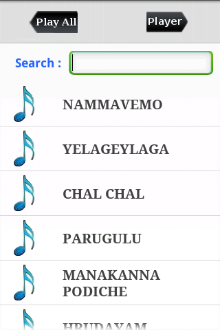 Hindi Tamil Telugu Songs - screenshot