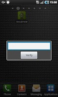 Screenshot of SecuDroid