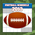 Football Schedule 2013 logo