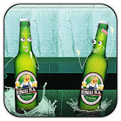 Beer Couple live wallpaper
