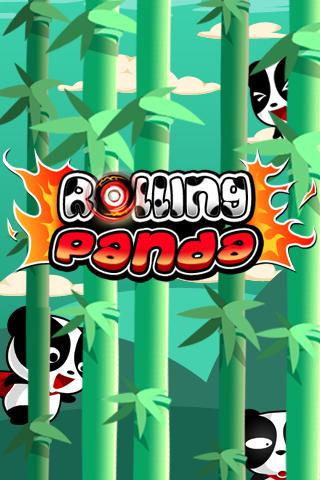 Rolling Panda - screenshot
