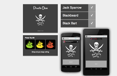 Pirate Dice for Chromecast- screenshot thumbnail